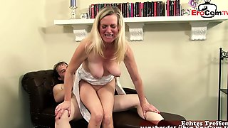 German Mother Seduced Father First Time