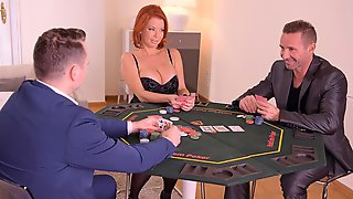 Redhead MILF Veronica Avluv Likes Double Penetration