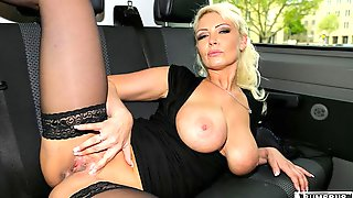 Hot Hard Anal In The Bus With Busty German Babe Vivian Schmitt