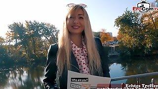German Blonde Street Hooker Public Pickup Story