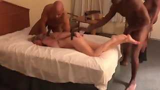 Lusty White Cheating Wife Is Punished With Hardcore Amateur Gang Bang