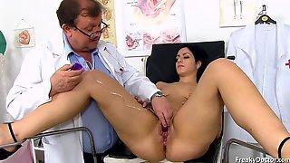 Alex Black Medical Exam - Gape My Pussy