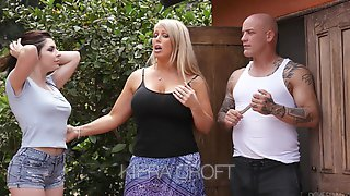 Keira Croft Seduces Bald Headed Boyfriend Of Whorish Mommy Alura Jenson