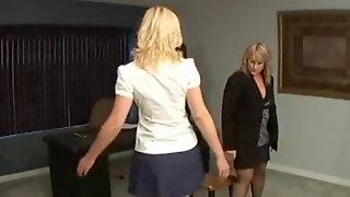 Nuwest Debra As A Schoolgirl Spanked