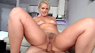 Lisey Sweet Rides The Hard Cock In POV