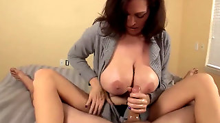 Huge-titted And Nasty Mummy