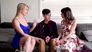 Shy Dude Is Seduced By Lovely Housewife Vera King For MFF Threesome