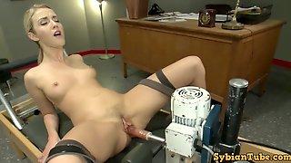 Karla Kush Machine Got Laid To Squirting Orgasm