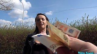 Gorgeous Euro Slut Wants Cash But Also Wants The Dick Hard