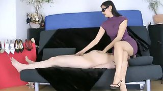 Cock Ball Torture And Facesitting- Shoe High Heel And Adore Humiliation