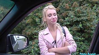 Aroused Blonde Filmed When Fucking For Cash With Random Guy