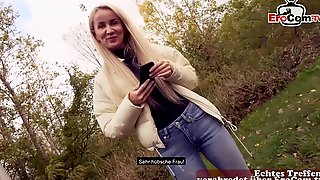 German Skinny Street Prostitute Public Pick Up Outdoor Date
