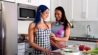 Vixens Jewelz Blu And Aidra Fox Epic Lesbian Sex