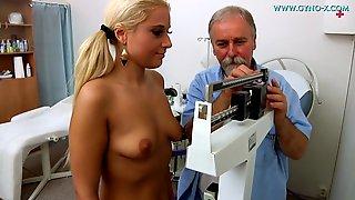 Blonde Gets Gyno Exam - Medical Porn