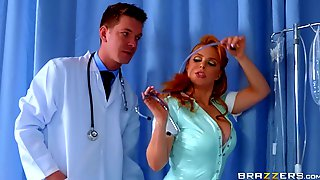 Nasty Redhead Babe Blows And Rides A Dick As A Part Of ANAL Check-up