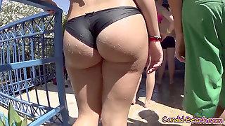 Steamy Sexy Ass Things Latinas Beach Spycam HD Flick