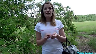 Young Kizzy Sixx Earns Money In The Woods Via Dirty Deeds