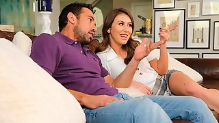 Paige Owens Fucks Her Friends Dad In The Living Room