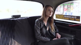 Lovely Doll Adelle Unicorn Gave It Up To Her Perverted Cab Driver