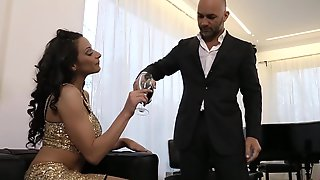 Rich Guy Payed Italian Hooker For Sensual Pussy Fuck