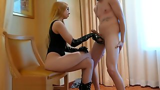 Ballbusting Alex Coal 1