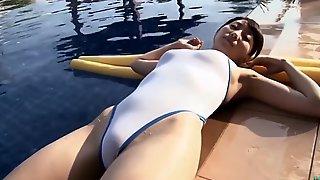Morisaki White REALISE Swimsuit [ Softcore ]