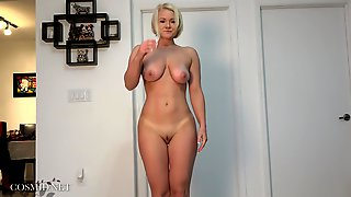 Busty PAWG Katie In Naked Yoga Session - Amateur Girl Next Door