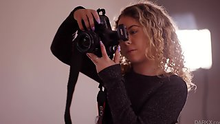 Amateur Photographer Allie Addison Is Surprised By The Size Of His Cock