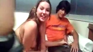 Serbian Teens Threesome