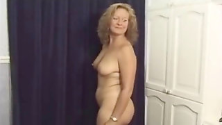 British Cougar Housewife Barbra Takes On Trio Men Hubby Loves It