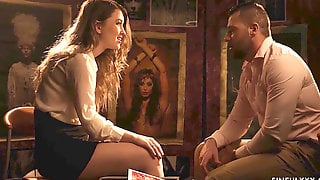 Misha Cross Meets The Artist For Hook-up