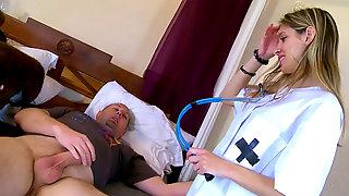 Dirty Nurse Cures Patient In A Sensational Way