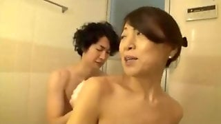 Japanese Youthfull Dude Who Luvs His Mom