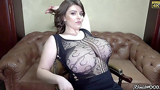 I WANT YOU TO FEEL MY SPERM Packing YOUR Slit AS I Finish Off XENIA!!!