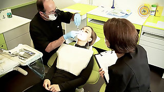 Lady At The Dentist