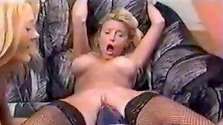 Violent Fake Penis Towheaded