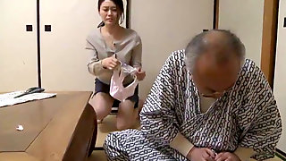 Muddy, Crazy Elderly Man Would Rather Sniff Her Panties Than Fuck Her - Weird