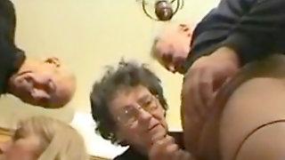 Grandma Helen 82 Years Fellatio Part 1