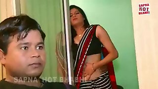 Wife Loves With Servant While Husband Is In Next Room - Hindi Steamy Brief Film.MP4