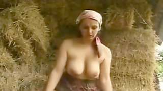 Hairy Cougar With Yam-sized Boobs Fucked And Facialized