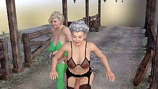 Hermaphroditism Satyrs Vs The Sausage Nymps Rev4