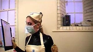 Rubber Medical Female Dominance