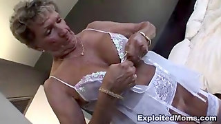 Older Grannie Takes A Big Black Cock In Her Ass Anal Multiracial Video