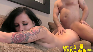 MisterFake Cock-squeezing Booty Emo Nubile Pops Her Anal Cherry