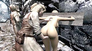 Skyrim Villainess Elenwen Plumbed Cropped Pt1