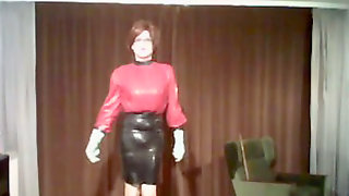 Latex Rubber Gummi Nutte Biotch High High-heeled Shoes Anal Shemale Cougar