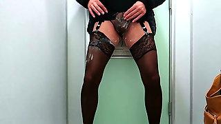 Abnormal Task Fulfill Jism In Panties And Pee