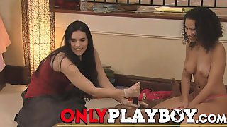 Swap Partners In A Steamy And Oily Swinger Massage Session.