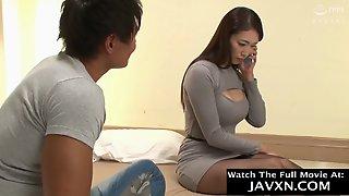 Japanese Mom Feeling Horny For Stepson Video