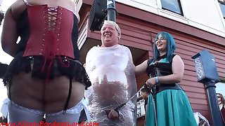 Crazy Outdoor BDSM Amateur Porn Video